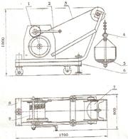 Лебедка элеваторная ЛЭ-150