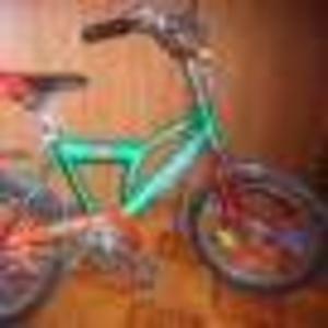 Продам детский велосипед зеленого цвета