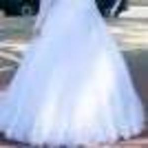 Продаётся белоснежное свадебное платье,  ручная вышивка