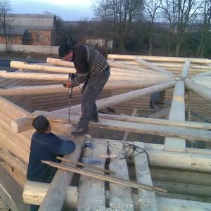 B изготовление срубов. Церкви из дерева.