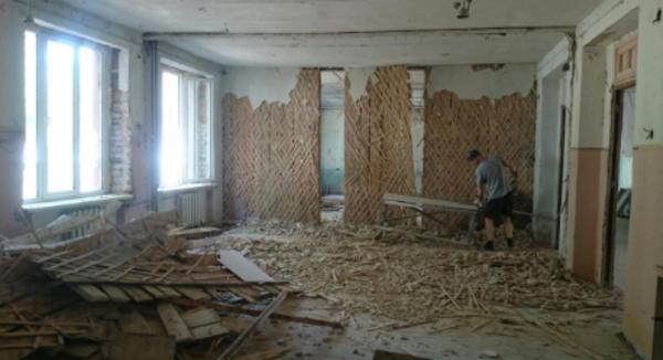 Демонтаж квартир,  зданий 5